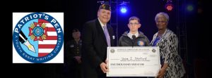 "Shane Stafford, a 6th-grade student, was named the 2015-16 Patriot's Pen 1st-place winner. His essay on the 2015-16 theme, ""What Freedom Means to Me,"" won him a $5,000 award. Shane was sponsored by VFW Post 10468 and its Auxiliary in Searchlight, Nev."