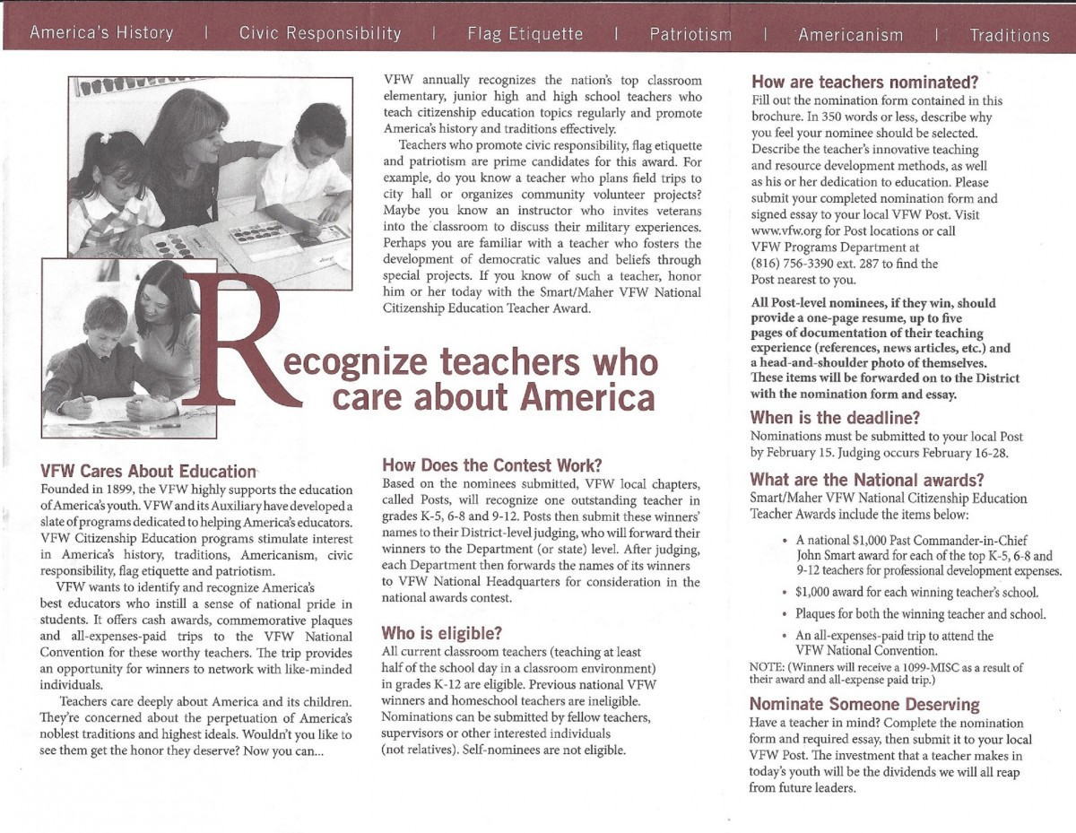 what makes an outstanding teacher essay Another important quality of an outstanding educator is competence outstanding teachers are highly capable they know how to do their job, and they do it very well they are smart, well educated, and well trained a highly competent teacher knows the importance of using best practices, and setting high expectations for learners.